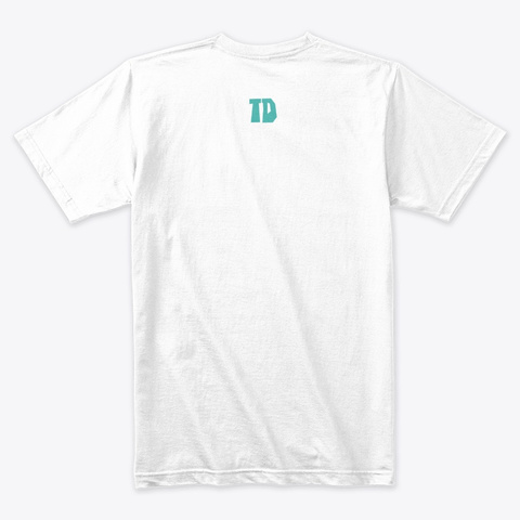 Total Drama Owen's Shirt Collection White T-Shirt Back