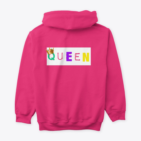 No S Koo Li N (Custom Queen Collection) Heliconia T-Shirt Back