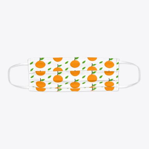 Awesome Orange Fruits Face Mask Standard T-Shirt Flat