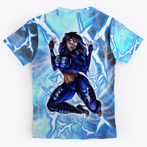 Raven Spark Black T-Shirt Back