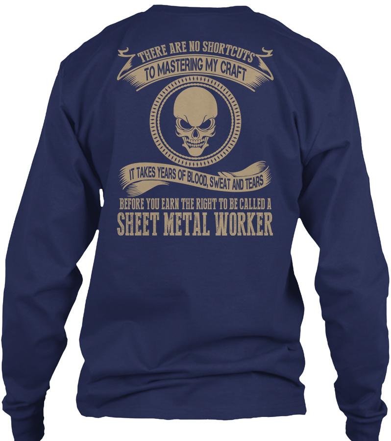 [2 Hours Left]sheet Metal Worker T-shirt LongSleeve Tee
