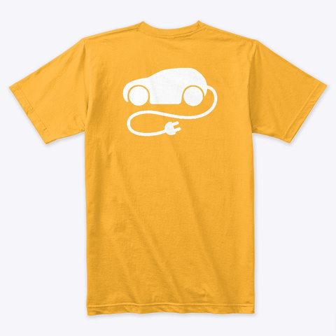 E Mobility In January 2nd Gold T-Shirt Back