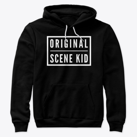 Original Scene Kid Black T-Shirt Front