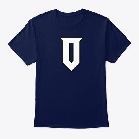 Optimus Logo Merch Navy T-Shirt Front