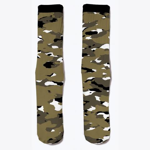 Military Camouflage   Arid Desert Vii Standard T-Shirt Front