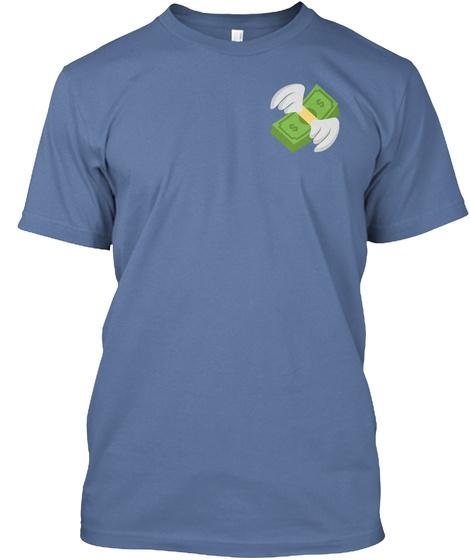 Rich Kidz Club   Collection 1 Denim Blue T-Shirt Front