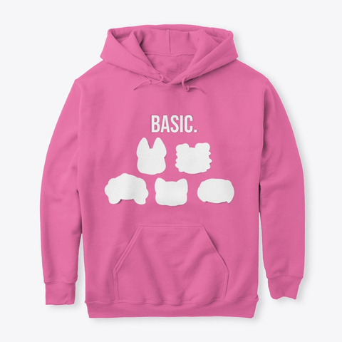 #The Basic Pets   The Simple Collection Azalea T-Shirt Front