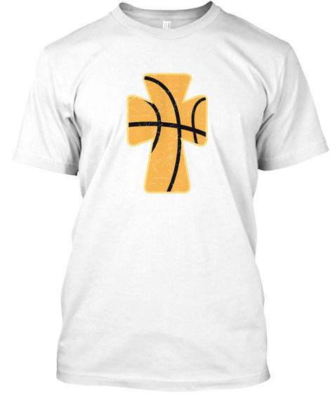 Born To Jump Higher White T-Shirt Front