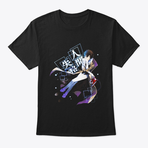 Bungo Stray Dogs T Shirts Black T-Shirt Front