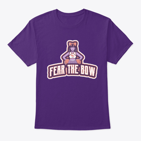 Fear The Bow Purple T-Shirt Front