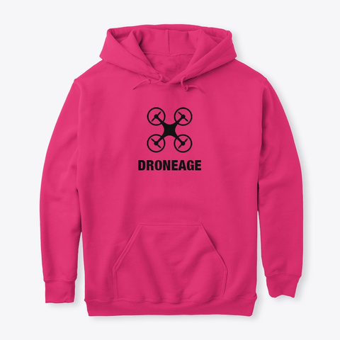 Droneage Hoodie Heliconia Sweatshirt Front