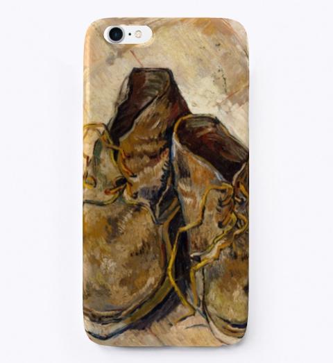 Van Gogh's Shoes: 1888 | Van Gogh Art Standard T-Shirt Front