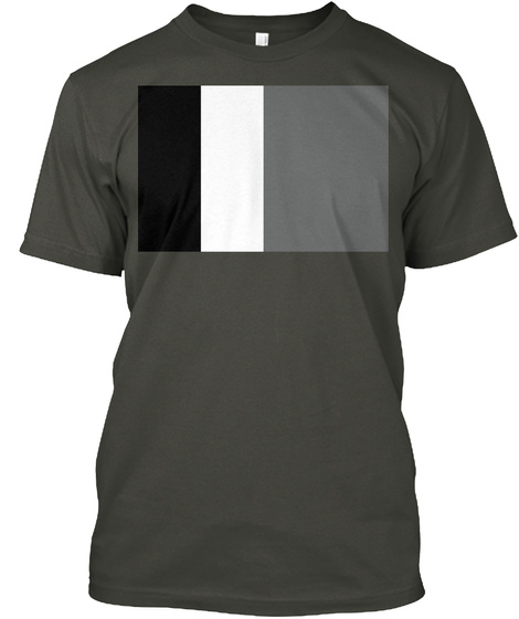 Flaggy Flag Alliance! (Hello Internet) Smoke Gray T-Shirt Front