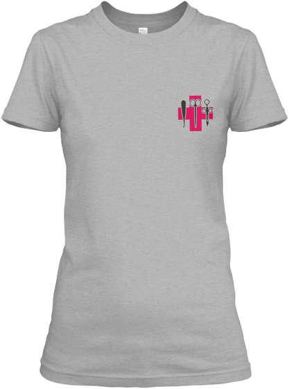 Awesome Surgical Tech Shirt Sport Grey T-Shirt Front