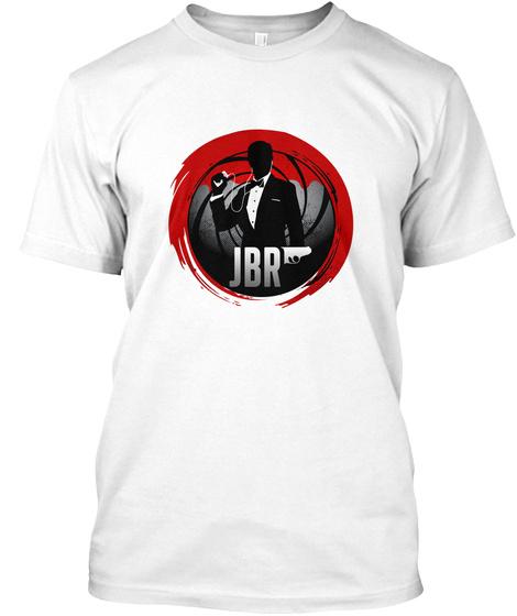 Jbr White T-Shirt Front