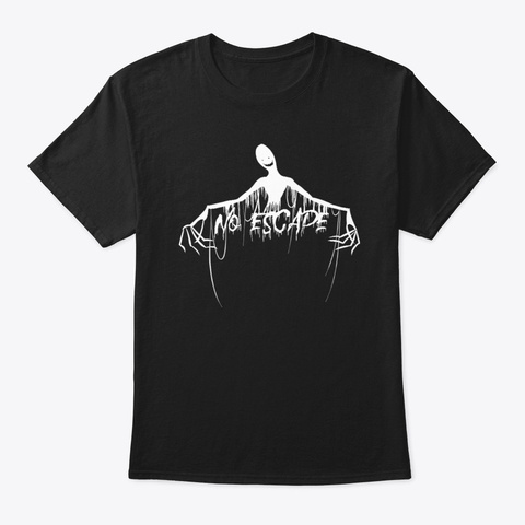 No Escape That Torment Of Mine! Black T-Shirt Front