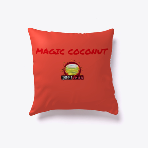 Magic Coconut (Product) Red T-Shirt Front