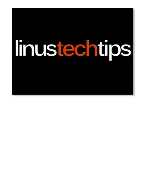 Linustechtips Nl Black Sticker Front