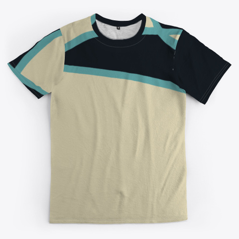 Abstract Multicolor Pattern Standard T-Shirt Front