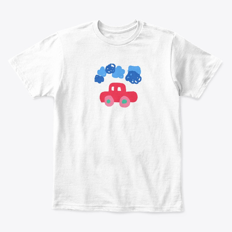 Sd Gs Kids Project  White T-Shirt Front