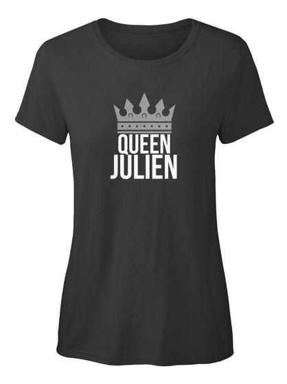 Julien   Simply Queen Julien Black T-Shirt Front