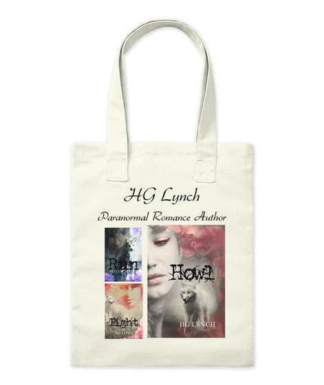 Hg Lynch Paranormal Romance Author Natural T-Shirt Front