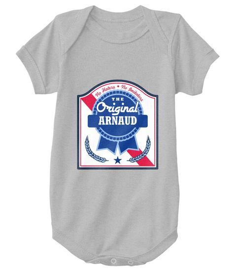 Arnaud The Original Blue Ribbon! Heather  T-Shirt Front