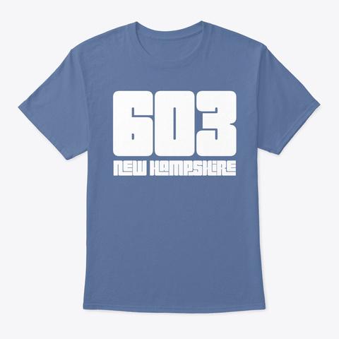 603 New Hampshire Unisex Tshirt