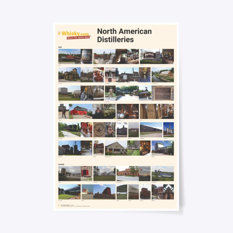 Poster North American Distilleries 24x36 Standard T-Shirt Front