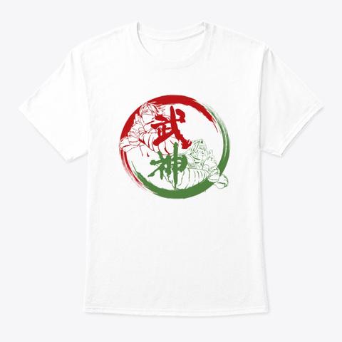 Bushin Ryu White T-Shirt Front