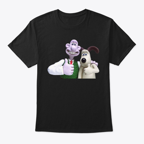 wallace and gromit shirt