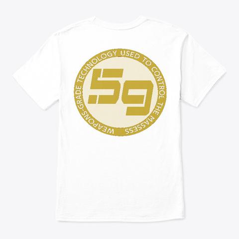 Thetruthco.Com White T-Shirt Back