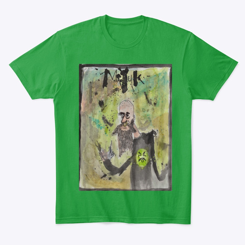 In Memoriam Kelly Green T-Shirt Front