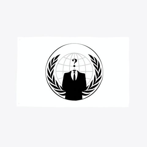 Anonymous Hacker Flag  Standard T-Shirt Front