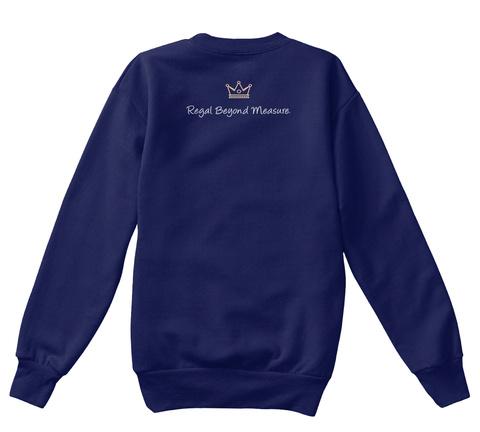 Royal Beyond Measure Navy T-Shirt Back