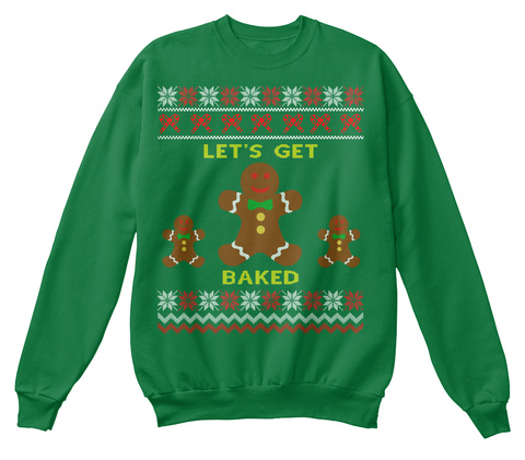 Funny Christmas Sweater.Baked Ugly Christmas Sweaters