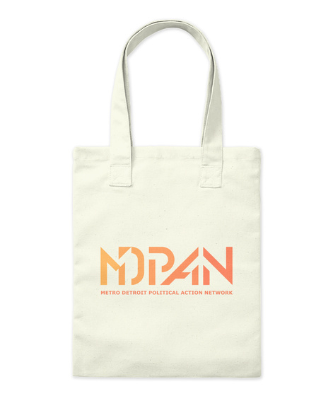 Mdpan Natural Tote Bag Front