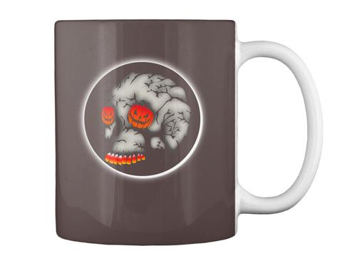 Halloween Mug Dk Brown Mug Back