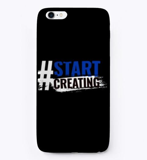Start Creating Black T-Shirt Front