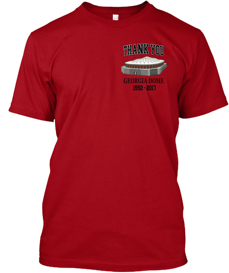 Dome T Shirts Limited Time Only Deep Red T-Shirt Front