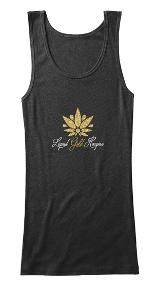 Liquid Gold Black T-Shirt Front