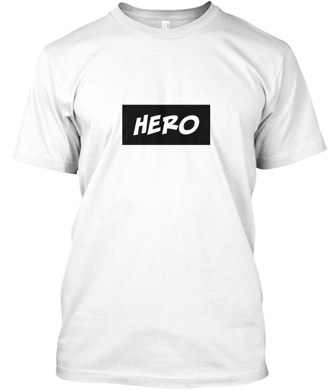 Hero™ Series X By Ben 10 Club White T-Shirt Front
