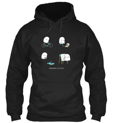 Paranormal Activities Black T-Shirt Front