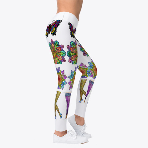 Lovely Artwork Leggings Standard T-Shirt Right