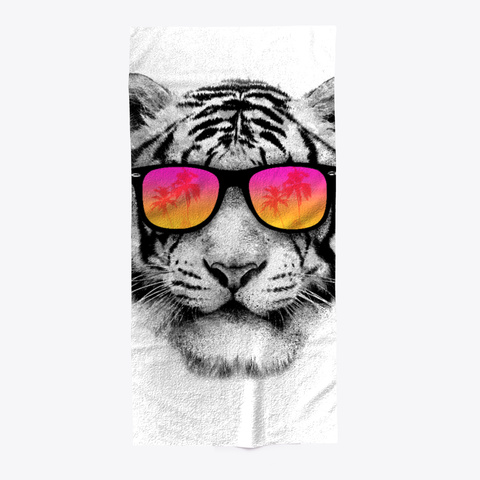Summer Tiger Standard T-Shirt Front