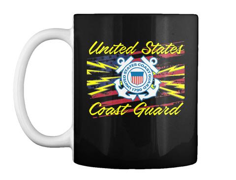 Cg Sparks Radioman Mug Black T-Shirt Front