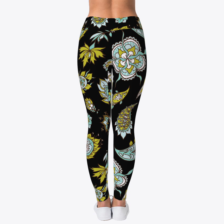 a15ac42271 Colorful Printed Workout Women's Print Fitness Stretch *Leggings ...