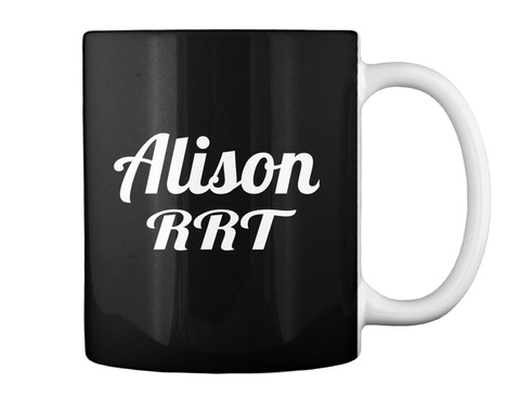 Alison Rrt Black Mug Back