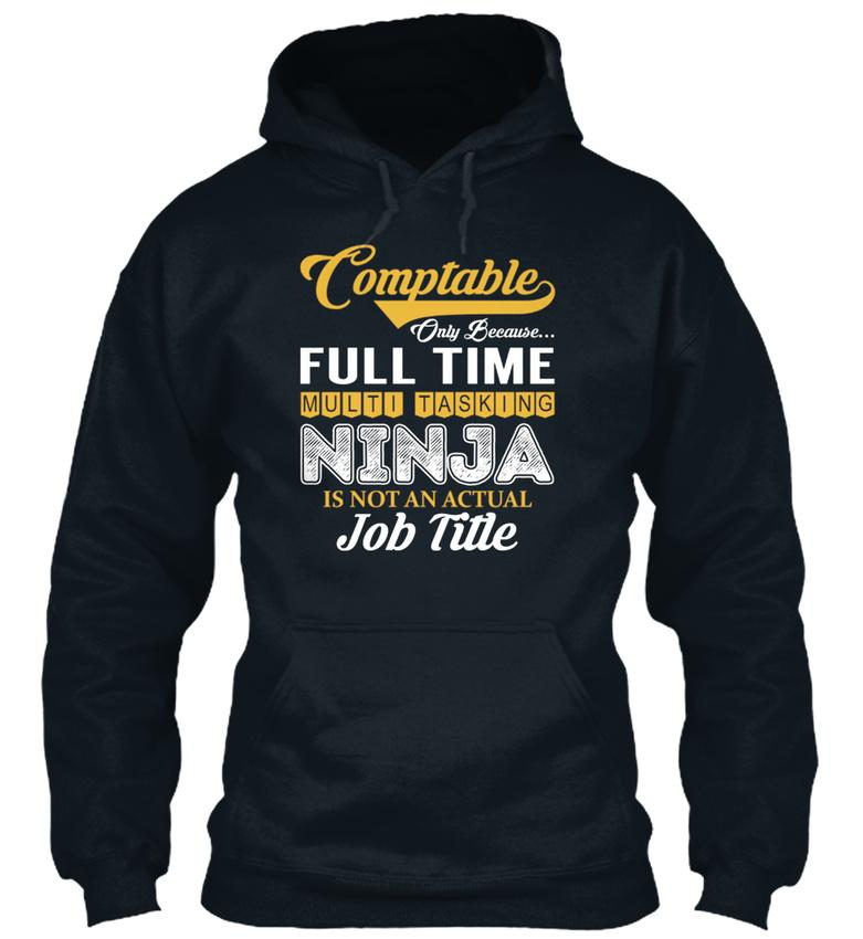 Comptable-Multi-Tasking-Ninja-S-Sweat-a-Capuche-Confortable