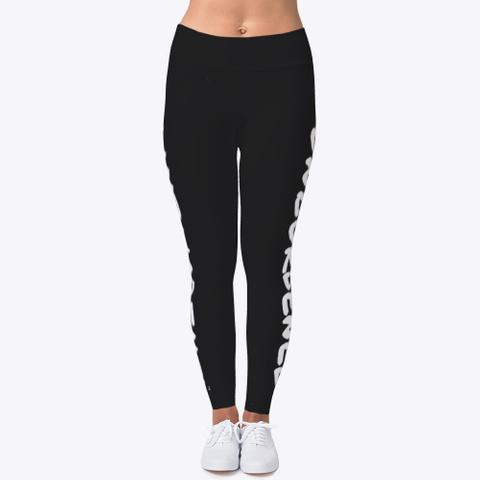 Leggings Black T-Shirt Front